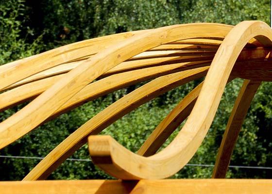 Łuki drewniane