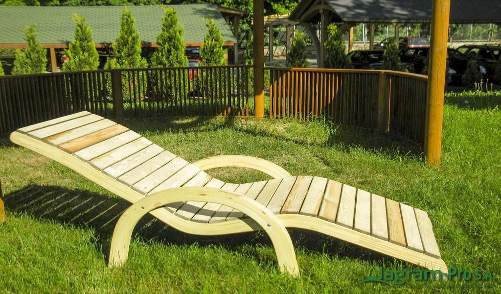 Leżak do ogrodu