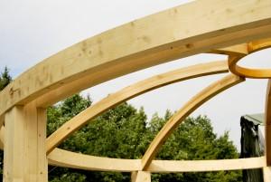 Dźwigary drewniane klejone